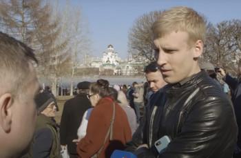 Жителя Екатеринбурга, толкнувшего «православного журналиста» в сквере, оштрафовали на 35 тысяч рублей