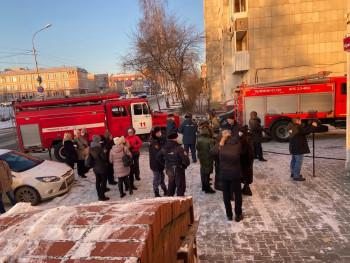 В Нижнем Тагиле в здании администрации произошёл пожар
