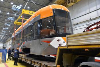Новая партия низкопольных трамваев от «Уралтрансмаша» прибыла в Нижний Тагил