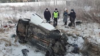 В ГИБДД рассказали подробности ДТП на Кольцовском тракте, в котором погибли женщина и ребёнок