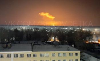В Свердловской области взорвался газопровод