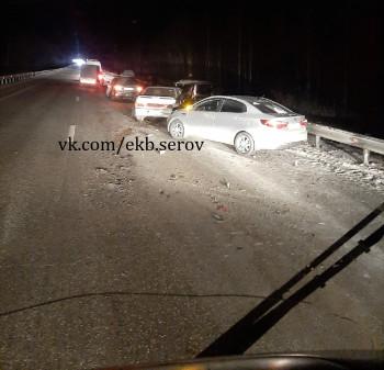 На трассе под Нижним Тагилом произошло два серьёзных ДТП. Есть погибшие (ВИДЕО)