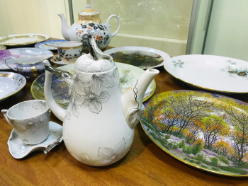 Музей искусств Нижнего Тагила покажет раритетную посуду закрывшегося Богдановичского фарфорового завода