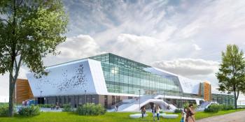 В строительстве Дворца водных видов спорта для Универсиады используется балка НТМК