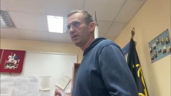 Суд арестовал Алексея Навального на 30 суток