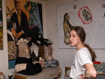 Художница Алиса Горшенина расскажет о своём творчестве в музее искусств