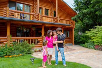 В России могут начать выдавать ипотеку на деревянные дома