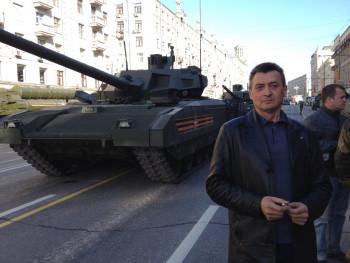 В Нижнем Тагиле умер легендарный водитель-испытатель танков «Уралвагонзавода» Олег Домрачев