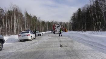 4-летний ребёнок погиб в ДТП с лесовозом в Свердловской области