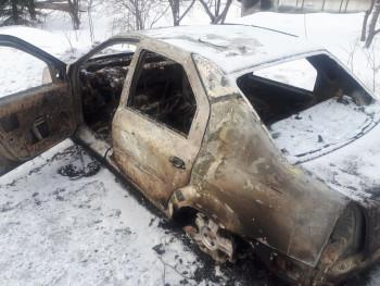 В Нижнем Тагиле мужчина сгорел в автомобиле