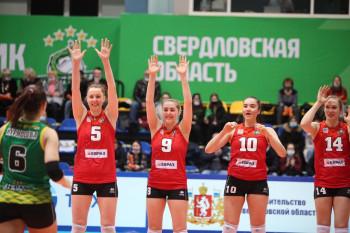 «Уралочка-НТМК» одержала первую победу в плей-офф