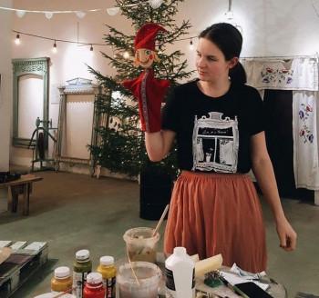 Создательница детского театра «Ку-кушка» Юлия Пиляй запускает свой обучающий курс