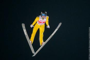 Россиянка Стефания Надымова взяла серебро Континентального кубка по лыжному двоеборью в Нижнем Тагиле