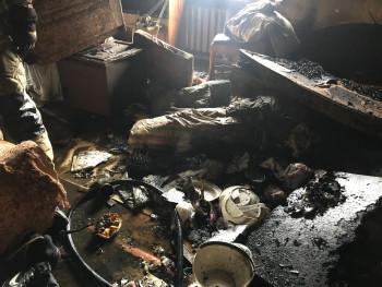 В Нижнем Тагиле во время пожара погибла пожилая женщина