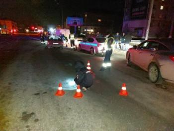 В Нижнем Тагиле водитель допустил наезд на лежащего на дороге пешехода