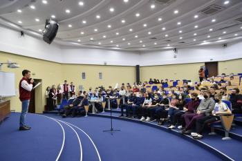 Технический университет УГМК провёл день открытых дверей для школьников посёлка Баранчинский