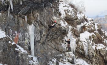 В эти выходные на Лисьей горе пройдут соревнования среди скалолазов
