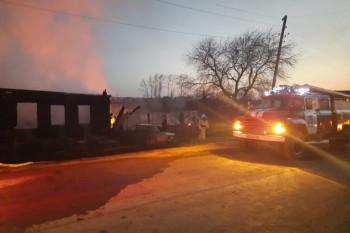 В пожаре под Нижним Тагилом погибли пятеро детей