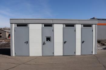 В исправительной колонии № 12 сделали туалеты для набережной «Тагильская лагуна — 2»