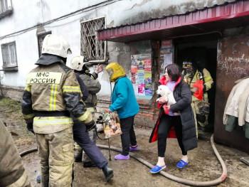 На Красном Камне из-за пожара эвакуировали многоэтажку