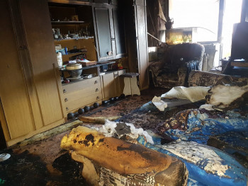 На Лебяжке в пожаре погиб 60-летний мужчина