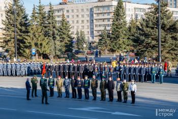 В Нижнем Тагиле прошла репетиция парада Победы (ФОТО)