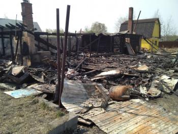 Стала известна причина пожара в частном доме на Руднике им. III Интернационала