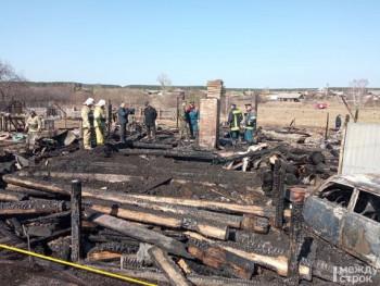 Пострадавших в пожаре в селе Бызово детей выписали из больницы