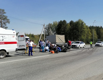 С открытия мотосезона в Нижнем Тагиле разбились три мотоциклиста