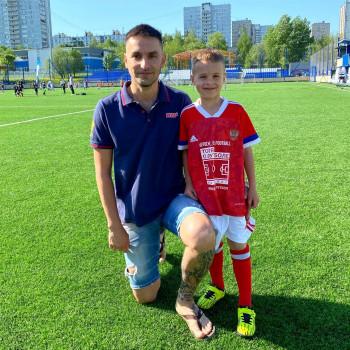 Маленький тагильчанин Марк Нургалеев участвует во всероссийском футбольном турнире в Москве
