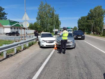Под Нижним Тагилом из-за водителя без прав в ДТП пострадал ребёнок
