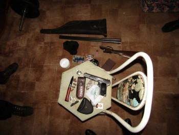 В Нижнем Тагиле полиция задержала вооружённого преступника