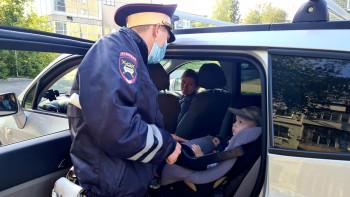 В Нижнем Тагиле с начала года 867 водителей оштрафованы за перевозку маленьких пассажиров с нарушениями