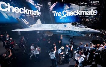 «Ростех» показал новый истребитель Checkmate
