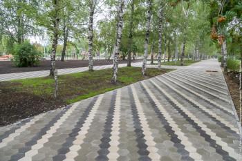 Сквер за ДК «Юбилейный» откроют после реконструкции в начале сентября