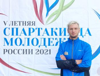 Воспитанник тагильской школы гребного слалома завоевал золото молодёжной Спартакиады