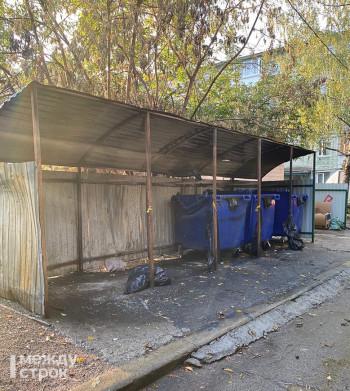 В Нижнем Тагиле после публикации АН «Между строк» управляющие компании поставили контейнеры взамен полиэтиленовых мешков