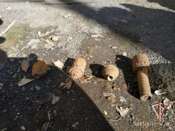 Жительница Каменска-Уральского нашла в подвале своего дома четыре гранаты