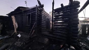 В селе под Сысертью после тушения пожара нашли тела двух детей