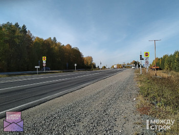 На аварийной развязке Южного подъезда к Нижнему Тагилу установили светофор