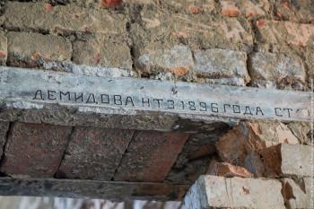 Найденные в Нижнем Тагиле демидовские рельсы вызвали споры о подлинности у экспертов