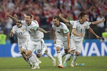 РФС получит отFIFA 4 млн долларов завыход сборной России вчетвертьфинал ЧМ-2018