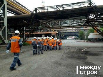 ЕВРАЗ НТМК провёл первую открытую экскурсию по заводским цехам (ВИДЕО, ФОТО)