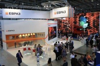 ЕВРАЗ представил на «Иннопроме» интерактивную карту с крупнейшими инфраструктурными объектами из своего металлопроката