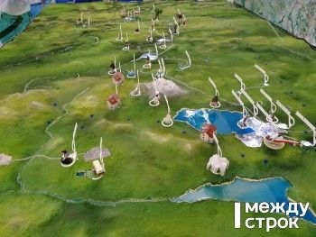 На «Иннопроме» представили помпезный макет курорта на «Горе Белой» 2028 года — с кемпингами, глэмпингами и зоопарками