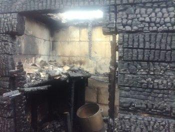 Из-за неправильно построенной печки на Старой Гальянке сгорела баня