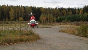 Под Нижним Тагилом упавшего со скалы туриста госпитализировали на вертолёте