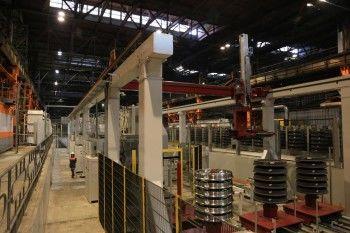 ЕВРАЗ НТМК запустил новую линию-автомат по обработке железнодорожных колёс