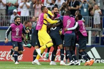 Сборная Франции завоевала золото Чемпионата мира по футболу