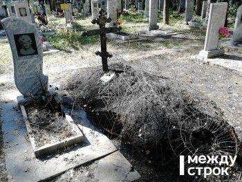 На мемориальном комплексе Нижнего Тагила сгорели около 20 могил бывших силовиков и почётных граждан (ФОТО, ВИДЕО)